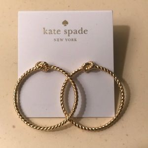 Kate Spade Hoop Earrings